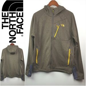 THE NORTH FACE|Brownish Green Hood Jacket Sz Large
